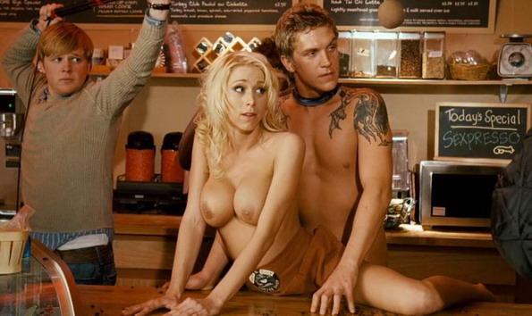 Sexe dans un bar gay